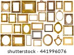 assortment of golden and... | Shutterstock . vector #441996076