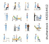 nurse health care decorative... | Shutterstock .eps vector #442014412