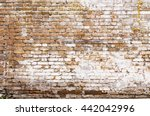 White Painted Bricks Wall...