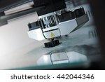 Detail Of 3d Printer Printing ...
