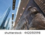 The Memorial Wall  Located At...