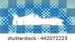 raceway. race cars. | Shutterstock .eps vector #442072225