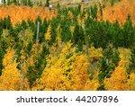 Autumnal View Of Rocky Mountai...