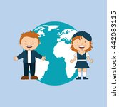 education concept design  | Shutterstock .eps vector #442083115