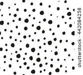 raster copy. seamless pattern ... | Shutterstock . vector #442084258
