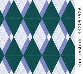 vector seamless pattern. modern ... | Shutterstock .eps vector #442097926