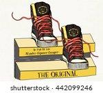 vector illustration shoes...