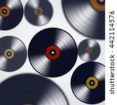 abstract minimal music... | Shutterstock . vector #442114576