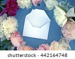 mother's day card. beautiful... | Shutterstock . vector #442164748