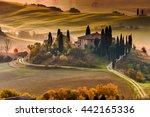pienza  italy   december 07 ...   Shutterstock . vector #442165336