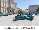 vienna  austria   april 29 ... | Shutterstock . vector #442167346