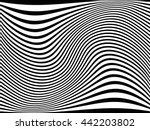 grunge stripe. vector... | Shutterstock .eps vector #442203802