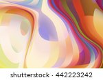 abstract background. swirly... | Shutterstock . vector #442223242