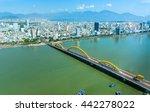 Da Nang Dragon Bridge Seen From ...
