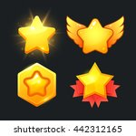 vector star icons set....