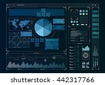 human user display . mixed media | Shutterstock . vector #442317766