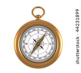 gold old compass | Shutterstock . vector #44231899