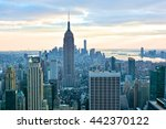 new york  united states  ... | Shutterstock . vector #442370122