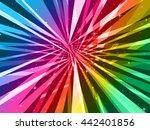 abstract   light show | Shutterstock . vector #442401856