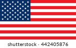 flag of the united states of... | Shutterstock .eps vector #442405876