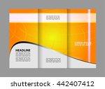 brochure design template  | Shutterstock .eps vector #442407412