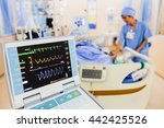 Stock photo vital signs monitor in hospital 442425526