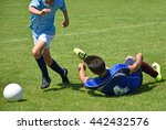 kids are playing soccer