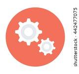 cogs vector icon | Shutterstock .eps vector #442477075