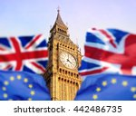 brexit   london with english... | Shutterstock . vector #442486735