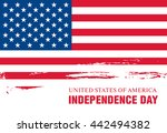 independence day of the united... | Shutterstock .eps vector #442494382