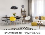 shot of a cozy bright studio... | Shutterstock . vector #442498738