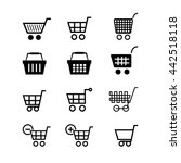 set of shopping icons | Shutterstock .eps vector #442518118