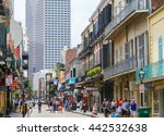 new orleans  usa   may 14  2015 ... | Shutterstock . vector #442532638