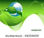 vector environmental background ... | Shutterstock .eps vector #44254054