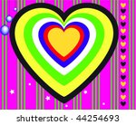 happy valentine's day | Shutterstock .eps vector #44254693