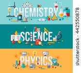 chemistry  science  physics... | Shutterstock .eps vector #442550878