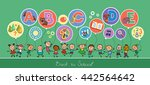 soon the school. back to school.... | Shutterstock .eps vector #442564642