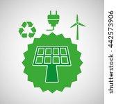 alternative energy design  | Shutterstock .eps vector #442573906
