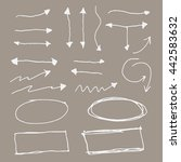 arrow marker set | Shutterstock .eps vector #442583632