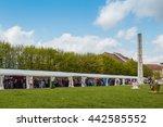 radovljica  slovenia   april 17 ... | Shutterstock . vector #442585552