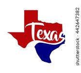 texas logo | Shutterstock .eps vector #442647382