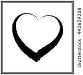 heart icon vector | Shutterstock .eps vector #442659238