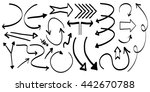 pack with several arrows ...   Shutterstock .eps vector #442670788