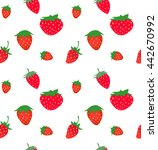 seamless pattern with... | Shutterstock .eps vector #442670992