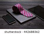 Business Still Life. Necktie O...