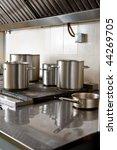 commercial kitchen   Shutterstock . vector #44269705