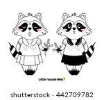 vector cartoon illustration ... | Shutterstock .eps vector #442709782