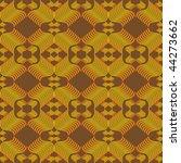 vector seamless geometric... | Shutterstock .eps vector #44273662