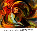 colors of the mind series.... | Shutterstock . vector #442742596