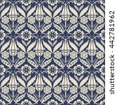 seamless turkish  pattern in... | Shutterstock .eps vector #442781962